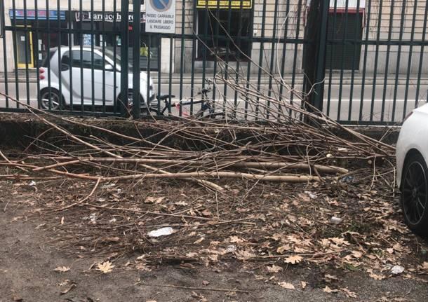 Lavori di manutenzione al parcheggio dell'ex Dopolavoro Tosi a Legnano