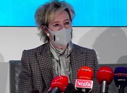 Letizia Moratti prima conferenza da vicepresidente Lombardia