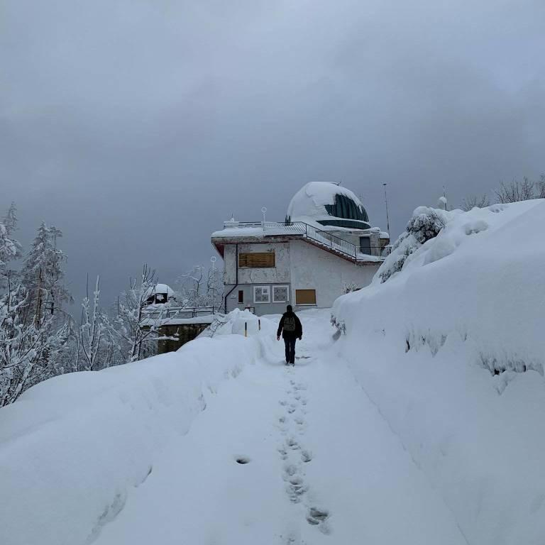 Osservatorio astronomico neve