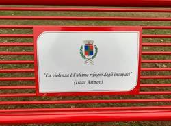 panchina rossa Nerviano