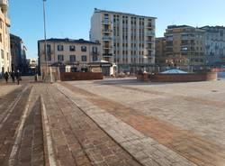 Piazza Repubblica riapre, ecco lo stato dei lavori