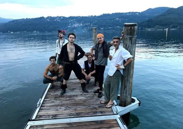 pirati del lago d'orta