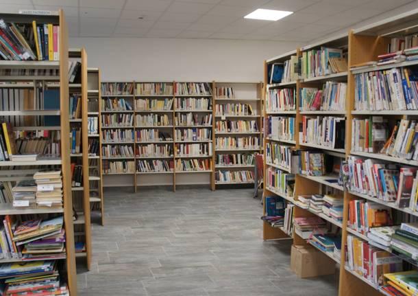 Presentazione nuovi spazi alla biblioteca di Cislago