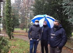 protesta monumento ai caduti fagnano olona