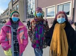 Protesta studenti Candiani Dad