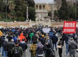 Ristoratori in protesta a Milano