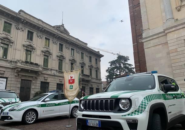 San Sebastiano 2020 Polizia Locale Gallarate