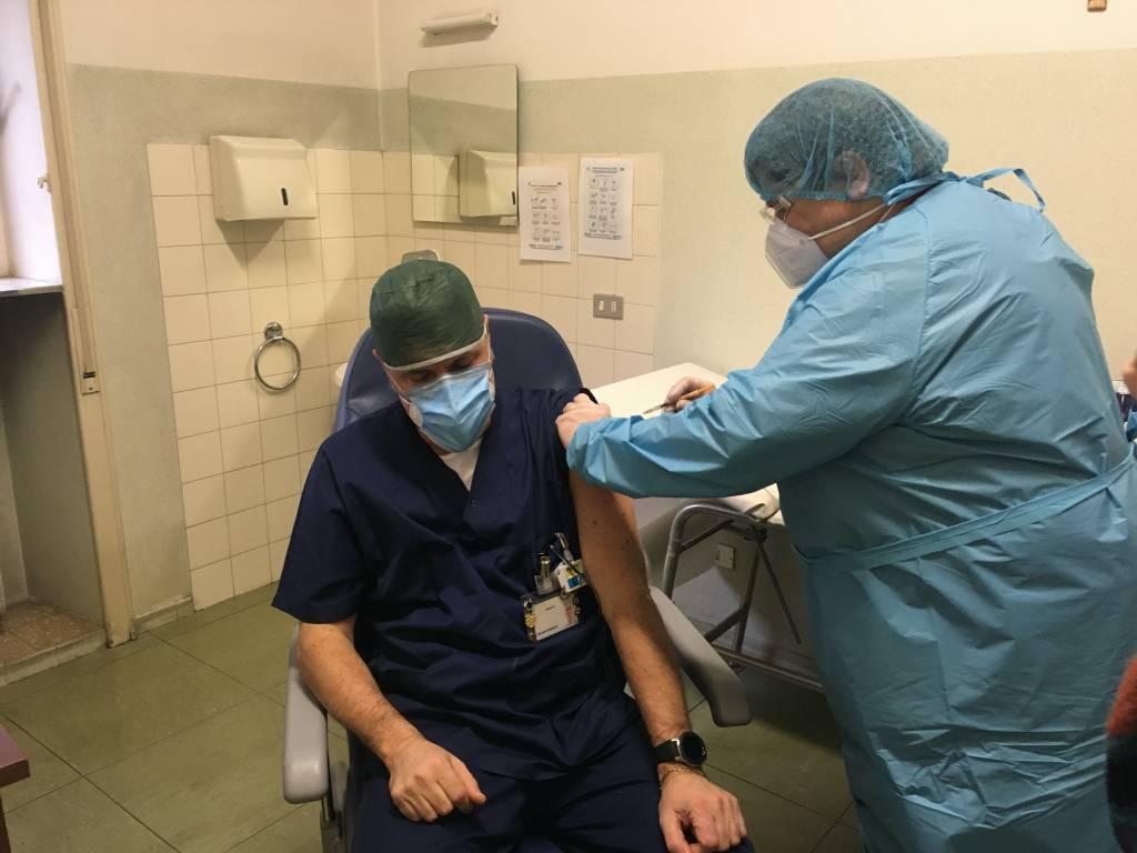 Vaccinazione anti-Covid a Gallarate