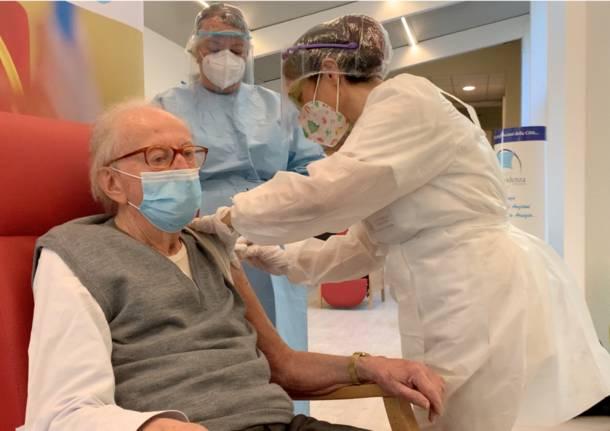 vaccinazione anti covid busto arsizio la provvidenza