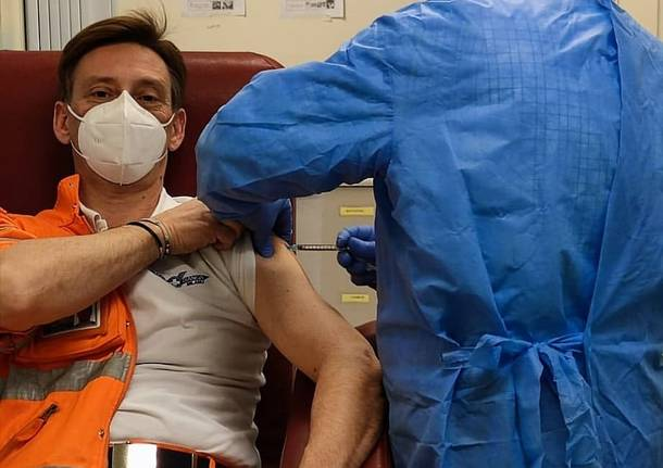 Vaccinazioni anti Covid-19 ai soccoritori