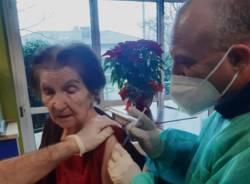 Vaccini alla Casa Sodalitas di Villa Cortesa
