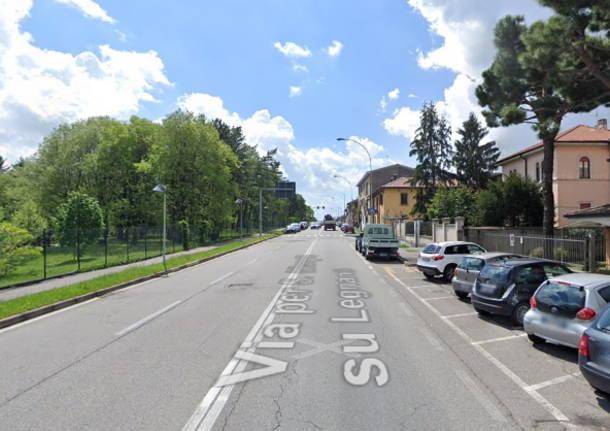 via per canegrate Legnano