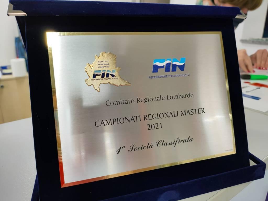 Acqua1Village primo classificato ai campionati regionali Master