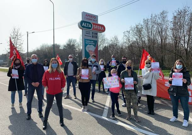 Altasfera Busto Arsizio sciopero sindacati