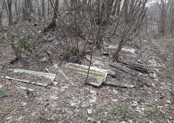 amianto boschi varese