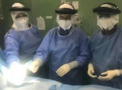 Borgomanero - pacemaker a paziente positivo covid