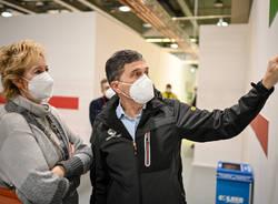 Vaccinazioni in Fiera a Milano