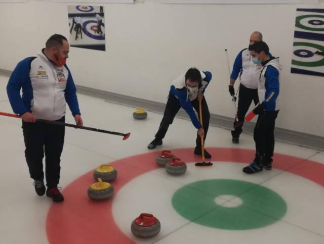 Varese Curling, esordio in campionato a Bormio