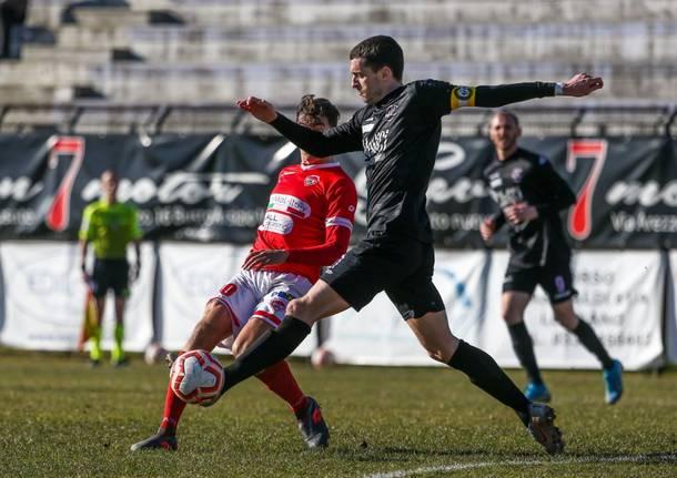 Calcio, Serie D: Legnano - Varese