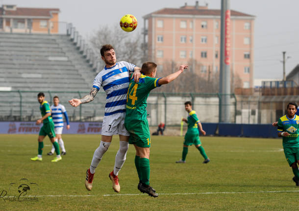 Calcio: Pro Patria - Pergolettese 0-2
