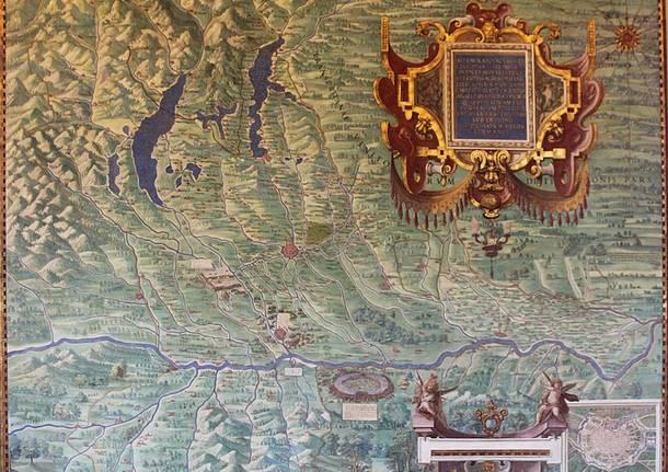 carte geografiche musei vaticani lago maggiore