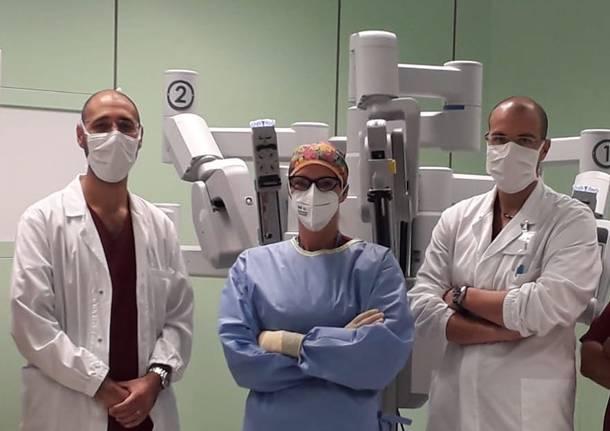 chirurgia robotica . dr Fabrizio Cantore