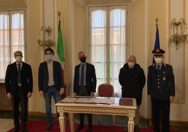 Convenzione polizia locale Varese, Lozza, Buguggiate
