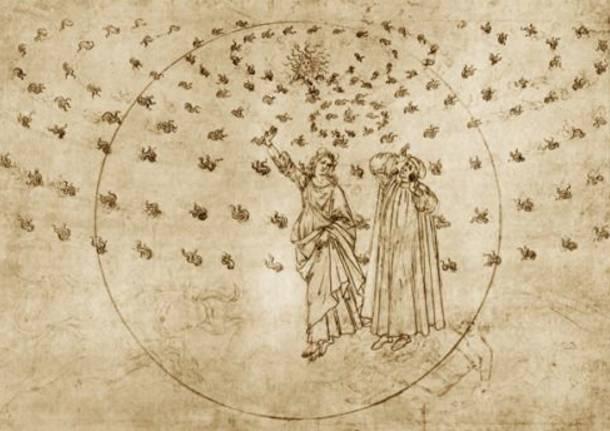 divina commedia illustrata botticelli