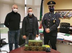 donazione fototrappole polizia locale lonate pozzolo ferno