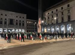 estrema destra in piazza montegrappa giorno del ricordo varese