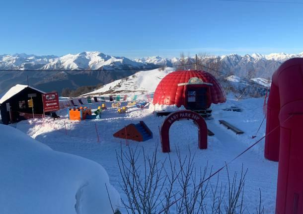 Tegola sugli impianti da sci, slitta al 5 marzo la riapertura