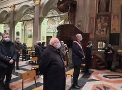 Giorno del Ricordo a Saronno, una corona d'alloro per caduti ed esuli