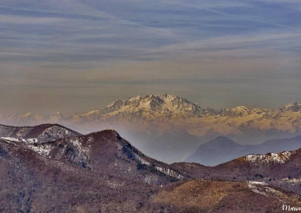 Il Monte Rosa dal Monte Orsa - foto di Marino Foina