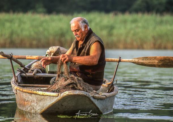 Il Negus, il pescatore di Cazzago Brabbia