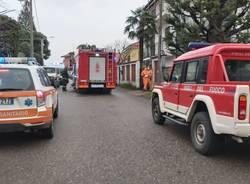 Incendio quadro elettrico a Cerro Maggiore (6 febbraio 2021)