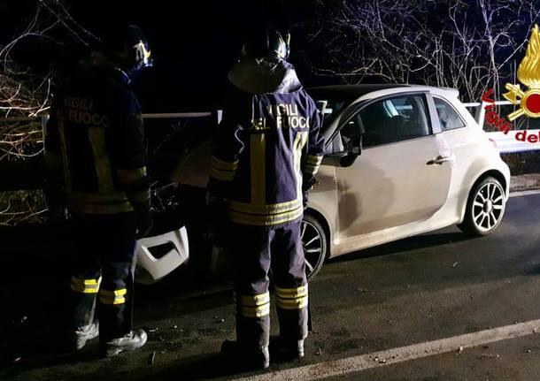 incidenti stradali Luino e Bisuschio