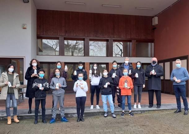 Lavena Ponte Tresa - Borracce ecologiche a scuola