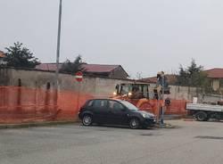 lavori parcheggio via don sturzo cerro maggiore