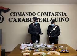 marijuana carabinieri luino
