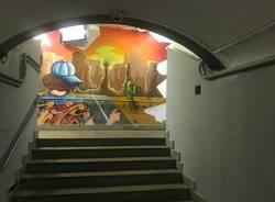 Murales sottopasso stazione