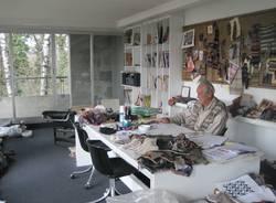 Nello studio di Ottavio Missoni - le nuove foto per il centenario