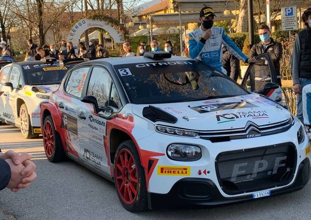 Premiazione rally dei Laghi 2021