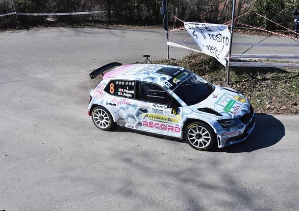 Rally dei Laghi 2021 – La gara sulla prova Alpe-Valganna
