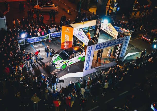 rally dei laghi palco
