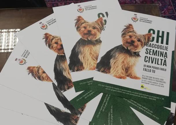 san giorgio campagna sensibilizzazione cani