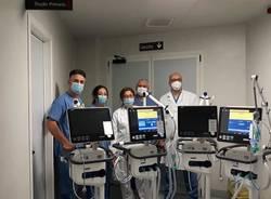 Saronno Point per l'ospedale, consegnati 4 ventilatori per la terapia intensiva