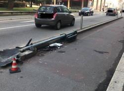 semaforo corso italia legnano - incidente