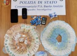 spaccio cocaina polizia busto arsizio