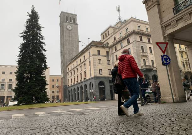 Varese in zona gialla