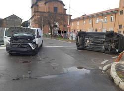 Vigili del Fuoco Legnano - incidente in via Boccaccio a Cerro Maggiore